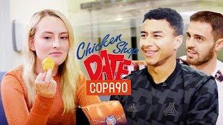 Dating Jesse Lingard and Bernardo Silva | COPA90 x Chicken Shop Dates Manchester Derby Special