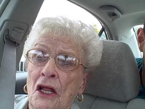 Grandma Telling a Dirty Joke