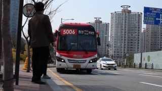 Taking a Bus in Korea
