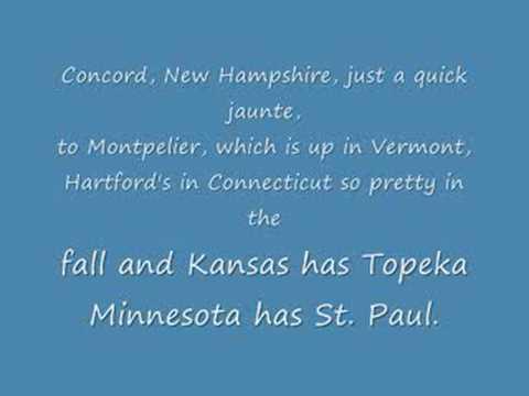 watch Animaniacs 50 US States & Capitals - LYRICS