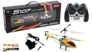 Syma S107G RC Helicopter - Unboxing & Review