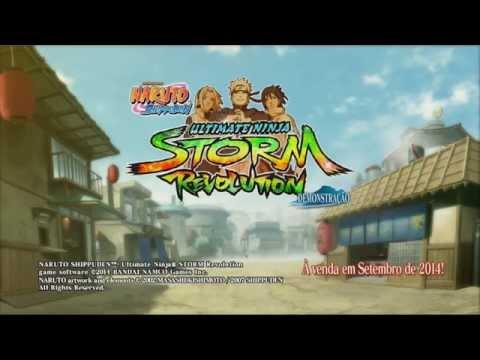 Naruto Shippuden Ultimate Ninja Storm Revolution Demo-Novos Personagens e mais!
