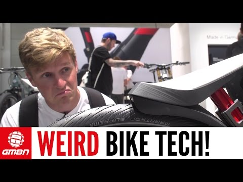 Weirdest Tech From Eurobike | GMBN At Eurobike 2016