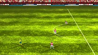 FIFA 14 iPhone/iPad - Arsenal vs. Norwich City