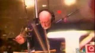 John Williams Recording NBC Nightly News Beat