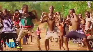 pani paryo asina jharyo African Dance very funny Video  पनि पर्यो असिना झर्यो