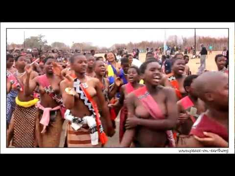2012 Umhlanga Reed Dance Ceremony Swaziland 2