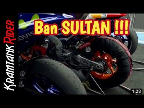 Kondisi Ban Motor Balap MotoGP Usai Race