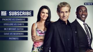 UNDISPUTED Audio Podcast (1.13.17) with Skip Bayless, Shannon Sharpe, Joy Taylor | UNDISPUTED