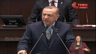 Recep Tayyip Erdoğan / Ak Parti Grup Toplantısı / 15 Ocak 2019