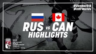 Game Highlights: Russia vs Canada May 17 2018 | #IIHFWorlds 2018