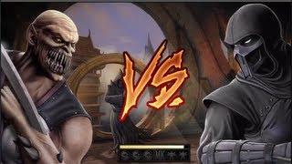 Mortal Kombat: Dashie Vs. Sport O_O