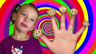 Monkey Finger Family Song