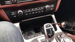 BMW F10 550i Electronic Shifter Neutral override
