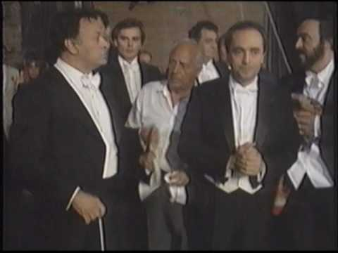 The Three Tenors - Behind the scenes Caracalla, p.2