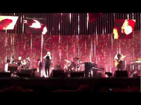 Radiohead live a Roma 22/09/2012.M.A.L Nude