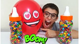 Balloon Songs for Learning Colors & Johny Johny Yes Papa Song - Nursery Rhymes For Kids