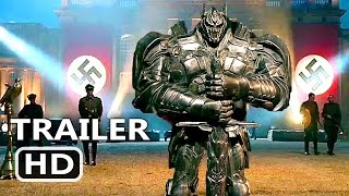 "TRANSFORMERS 5 ""Old Secrets"" Trailer (2017) Action New Blockbuster Movie HD"