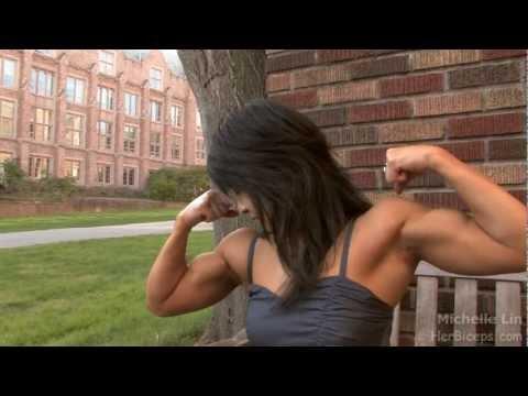 Michelle Lin Teen Muscle Girl