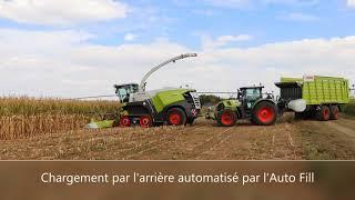La Jaguar 960 à chenilles Terra Trac en action – Self-Propelled Forage Harvester at Innov-Agri 2018