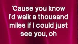 A Thousand Miles - Victoria Justice (Lyrics) HD