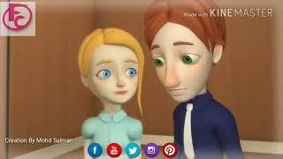 Bol Do Na Zara   Chipmunk Voice   Animated Love   Friends Channel