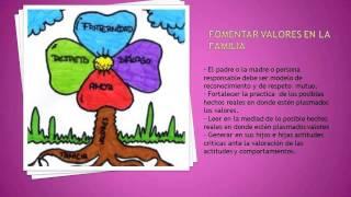 Mi presentación de diapositivas Valores