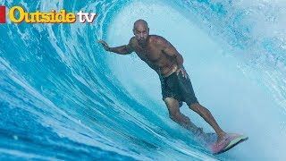 Kelly Slater and John John Florence Search For Isolated Waves | A Life in Proximity