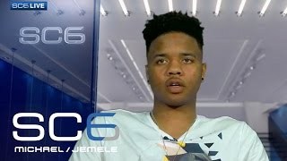 Markelle Fultz On Playing Against Lonzo Ball In NBA   SC6   April 26, 2017