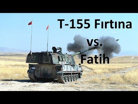 T-155 Fırtına ve Fatih Obüsünün Hikayesi