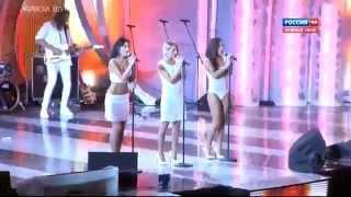 SEREBRO - Malo Tebya Серебро Мало Тебя New!!! Live 2013