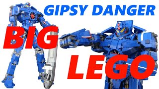 【LEGO】レゴで作るジプシー・デンジャー  LEGO GIPSY DANGER【PACIFIC RIM】