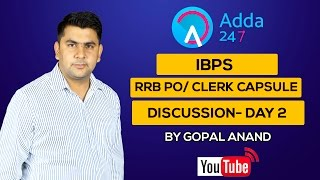 IBPS RRB PO / CLERK - CAPSULE DISCUSSION DAY2