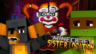 SISTER LOCATION SECRET FACTORY - Minecraft Adventure