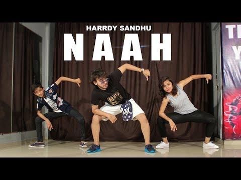 Naah Harrdy Sandhu Dance Choreography | Vicky Patel | Easy Hip hop Beginners class