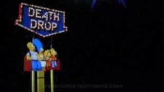 The Simpsons Ride on-ride POV Universal Studios Florida