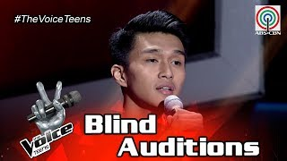 The Voice Teens Philippines Blind Audition: Archie Aguilar - One Last Cry
