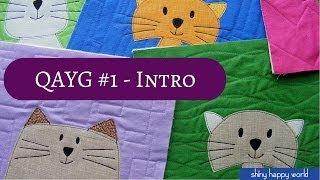 Quilt as You Go #1 - The Basic Technique