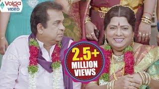 Brahmanandam Funny Marriage Scene    Brahmanandam, Telangana Sakunthala    Volga Videos 2017