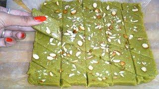 आटे से बनाये ऐसी नयी तरह की मिठाई कि स्वाद जुबां से ना उतरेगा |Aata Mithai, Wheat flour sweets 😋