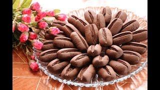 بسكويت حبات القهوة او حلى حبات البن السريعة في دقائق فقط مع رباح محمد ( الحلقة 476 )