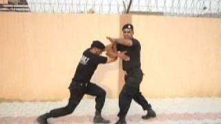 SSU sindh police pakistan karate self defense No.5  saleem niazi.MOV