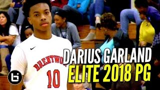 The #1 2018 Point Guard, Darius Garland Makes it Look Easy In First Two Games!