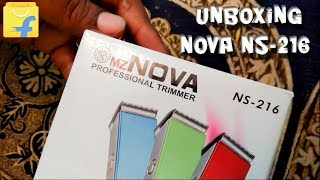 Nova NS-216 Budget Professional Trimmer Unboxing