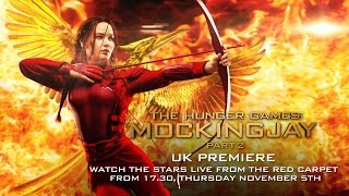 The Hunger Games: Mockingjay - Part 2 UK Premiere