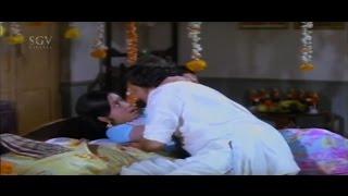 Manjula || Dr Vishnuvardhan || First Night Romance || Sose Thanda Sowbhagya Kannada Movie