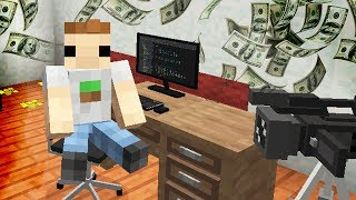 HOUSE TOUR & SETUP VIDEO IN MINECRAFT!! (nieuwe meubels)