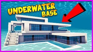 Minecraft - BUILDING THE MOST SECURE UNDERWATER BASE! LIVE w/TinyTurtle