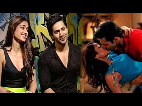 Varun Dhawan's first kiss with Ileana D'Cruz