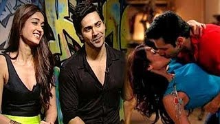 Varun Dhawan's first kiss with Ileana D'Cruz